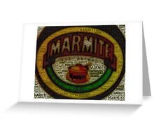 Marmite is the Word Greeting Card