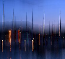 Scarborough Harbour by a h