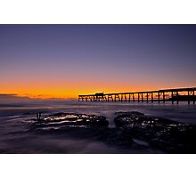 Friday the 13th Sunrise. Photographic Print