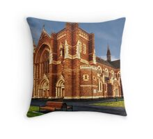 St Mary Star of the Sea Throw Pillow