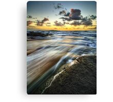 Dawn Rush Canvas Print