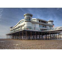 Weston Super Mere Pier Photographic Print