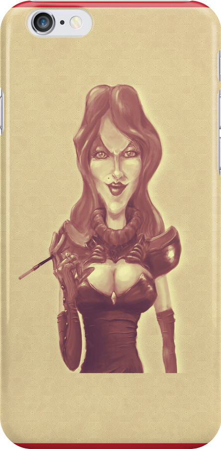 Lady Caramel Pinup Case by mosab84