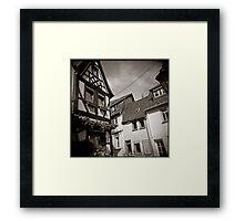 { fairy tale houses } Framed Print