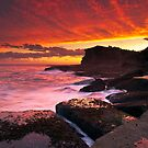 A Skillion Sunset - Terrigal by Mathew Courtney