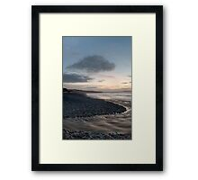 Down By The Water Portrait Framed Print