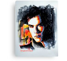 Ian, featured in Shameless-Self -Promotion Canvas Print