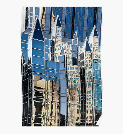 Gothic Revival in Glass Poster