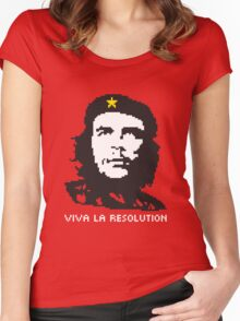Viva La Resolution! Women's Fitted Scoop T-Shirt