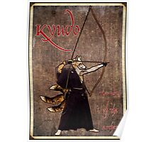 Kyudo Kitsune- The Way Of The Archer Poster