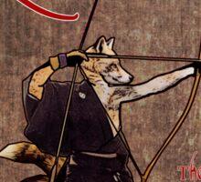Kyudo Kitsune- The Way Of The Archer Sticker
