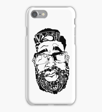 Graffiti Pop-art Cartoon Portrait  iPhone Case/Skin