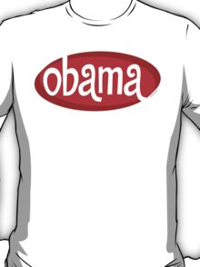 Retro Red Obama T-Shirt