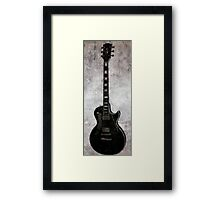 The Only Thing Better Than A Good Guitar........Is A Good Woman Framed Print