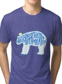 Le Bear Polar Tri-blend T-Shirt