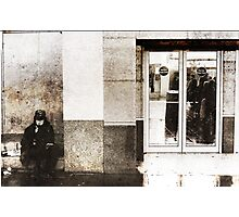 Homeless  Photographic Print