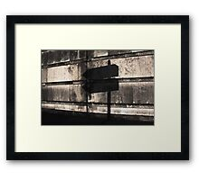 """NO CHOICE """"they"""" said....... but I didn't agree ..... Framed Print"""