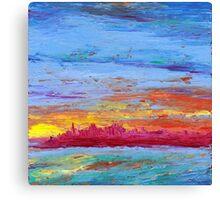 San Francisco Sunrise II Canvas Print