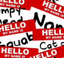 Hello... Sticker