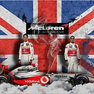 Vodaphone Mclaren F1 - British Pride by TwistedBiscuit