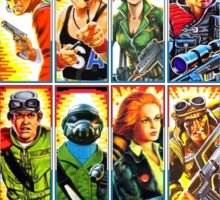 G.I. Joe in the 80s! Sticker