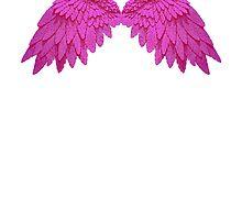 pink wings by DJ2012