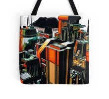 The Flight Across the Three Universes #2 - Utopia City Dawns #1 Tote Bag
