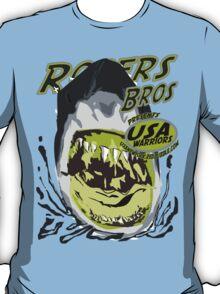 shark usa warriors by rogers bros T-Shirt