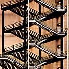 Factory Stairs by JRRouse