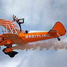 Breitling Wingwalking Team's Stearman by Stuart Robertson Reynolds