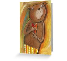 Love Bear Greeting Card