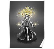Rainbow Punk: Gothic Gold Poster