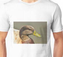 Portrait of Mallard Duck Variety Drake Unisex T-Shirt