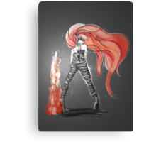 Rainbow Punk: Flame Funk Canvas Print