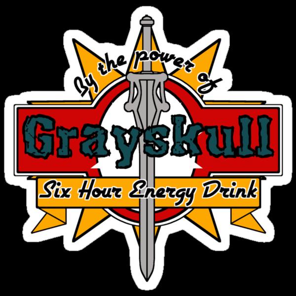 Grayskull Energy Drink by MightyRain