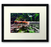 The Flight Across the Three Universes #6 - Worlds Apart Framed Print