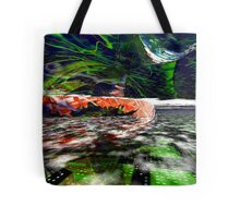 The Flight Across the Three Universes #6 - Worlds Apart Tote Bag