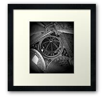 Up in the gods Mono Framed Print