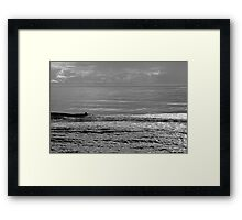 All To Himself Framed Print
