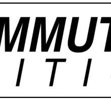 COMMUTER EDITION Sticker