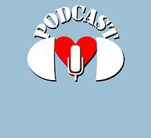 Podcasting Love Unisex T-Shirt