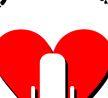Podcasting Love Sticker