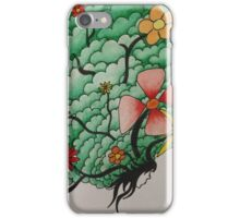 Flowers in her hair... iPhone Case/Skin