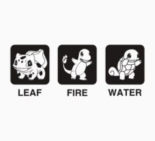 Leaf Fire Water by Royal Bros Art
