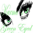 KARMAS GREEN EYED GIRL by Karma Arts UK Ltd