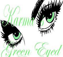 KARMAS GREEN EYED GIRL by Karma Arts UK Ltd