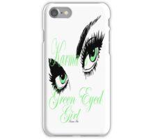 KARMAS GREEN EYED GIRL iPhone Case/Skin