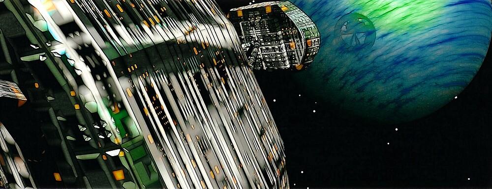 The Flight Across the Three Universes #7 - Fortune's Landing by Benedikt Amrhein