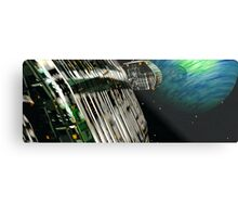 The Flight Across the Three Universes #7 - Fortune's Landing Metal Print