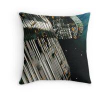 The Flight Across the Three Universes #7 - Fortune's Landing Throw Pillow